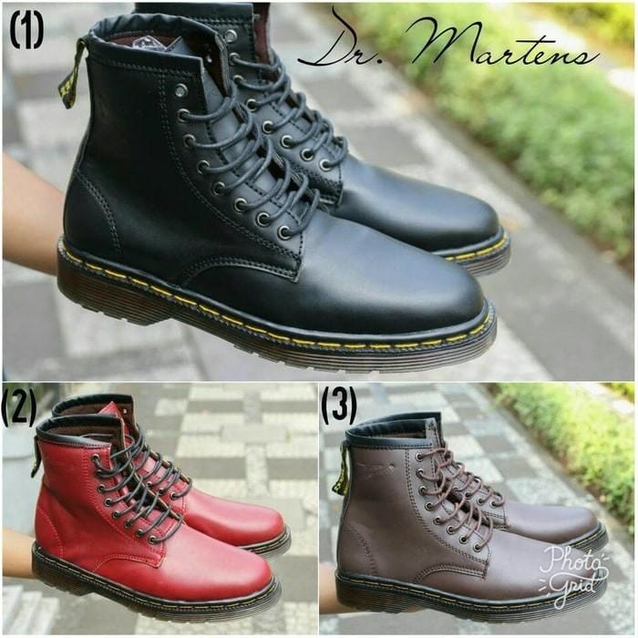 ... harga Sepatu pria dr martin boots docmart original handmade Tokopedia.com