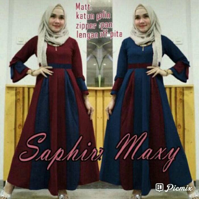Dm Maxi MX SAPHIRE gil Saphira Maxy Navy MAROON