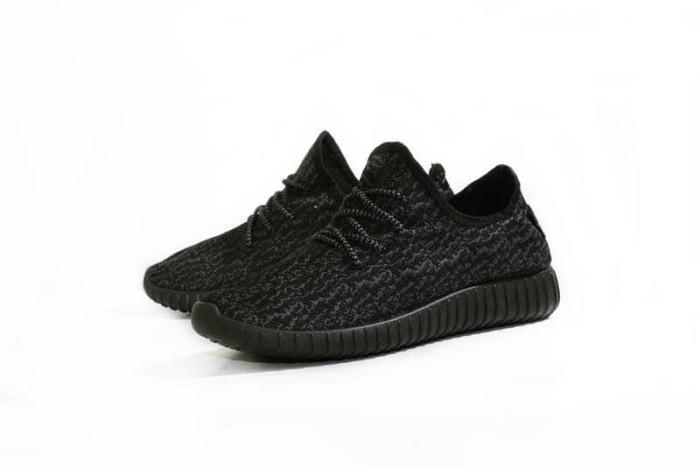 Jual Sepatu Adidas Yeezy Boost Premium Import Full Black Hitam - YB ... a4156169f7