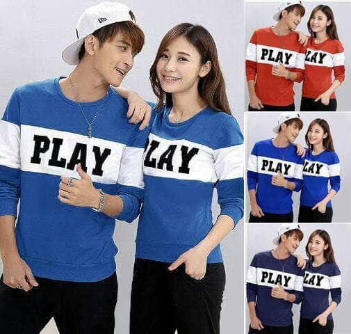 Foto Produk Baju Couple LP PLAY dari BEST COUPLE