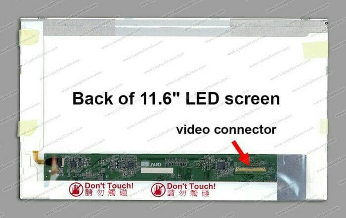 harga Lcd led lenovo thinkpad x100 x100e x120e x12e series 11.6 inch tebal Tokopedia.com