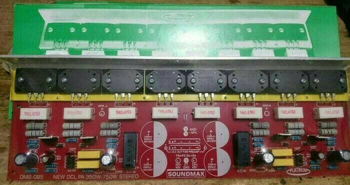 harga Kit power amplifier ocl 350-750w stereo dms-095 Tokopedia.com