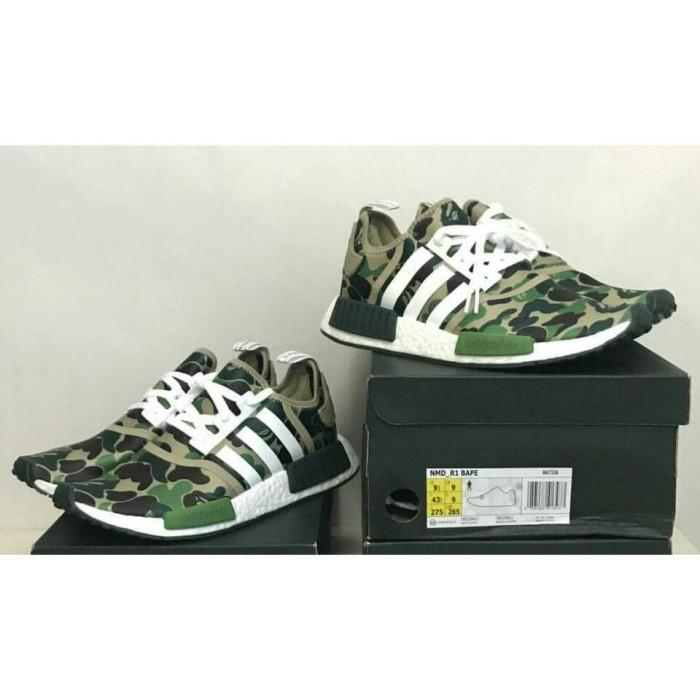 separation shoes b3521 1315b Jual adidas nmd r1 x bape