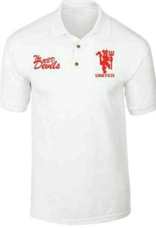 Jual Polo Shirt Red Devil Kota Bekasi Ramuja Tokopedia
