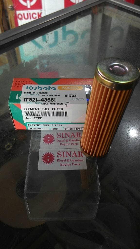 Element Fuel Filter Kubota RD All type - Saringan Minyak Filter Solar