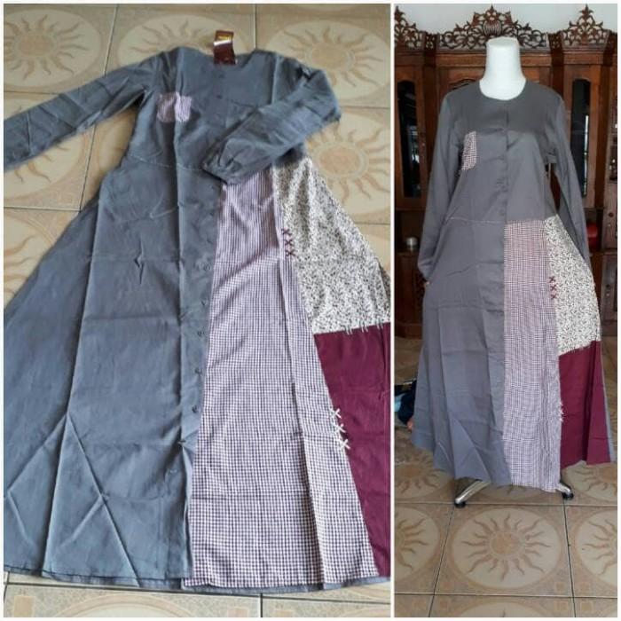 Jual Abaya Gamis Dannis Dewasa Sz L Kab Kuningan Abida Fashion Tokopedia