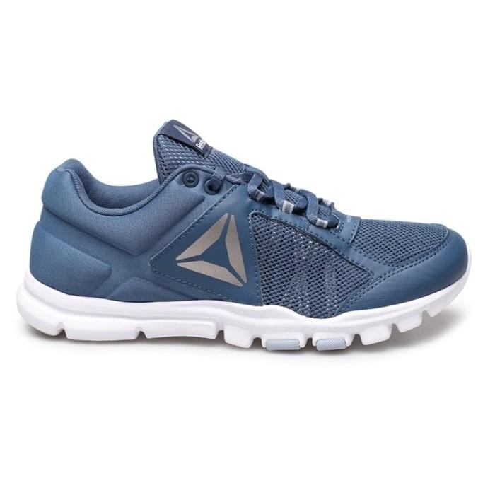 harga Sepatu lari running reebok yourflex train 9.0 biru original asli  murah Tokopedia.com df0feaf06b