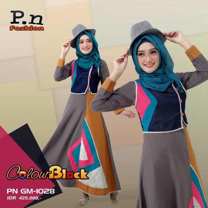Foto Produk Gamis PN Fashion GM 1028 dari assalam busana