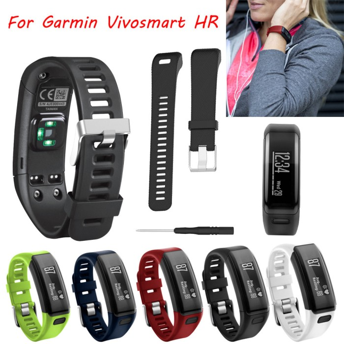 harga Strap band garmin vivosmart hr - tali jam sport watch Tokopedia.com