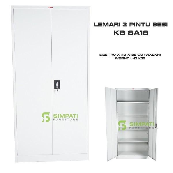 harga Filling cabinet ( lemari besi ) 2 pintu kb 8a18 prospek Tokopedia.com
