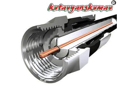 Foto Produk KONEKTOR RG-6 RG6 KABEL COAXIAL ANTENA STB DIGITAL RECEIVER PARABOLA dari kutauyangkumau