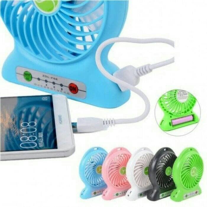 harga Kipas angin mini + power bank Tokopedia.com