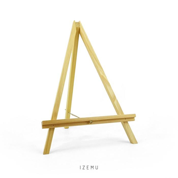 harga Izemu fuyo wooden easel / stand kayu / tripod kayu pinus large Tokopedia.com