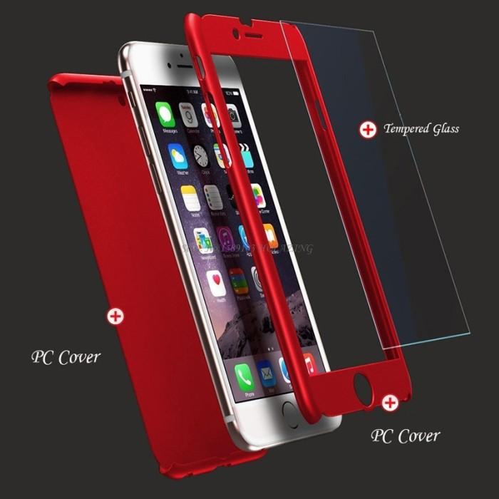 Hard Case Oppo F3 / F3 Plus Full Body Case 360 FREE TEMPERED .