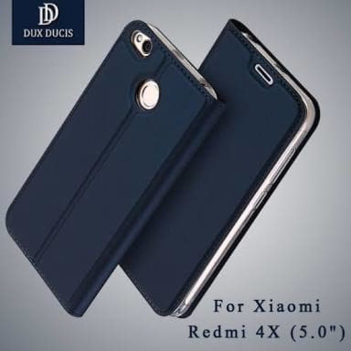 harga Xiaomi redmi 4x 4 x deluxe leather flip book cover casing case sarung Tokopedia.com