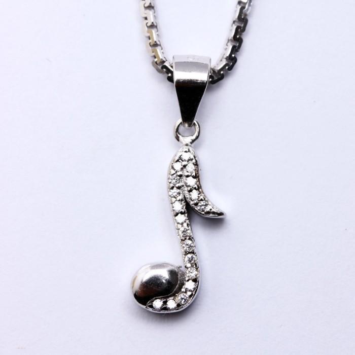 harga Wg 403 b - kalung perak emas putih asli korea - garansi 6 bulan Tokopedia.com