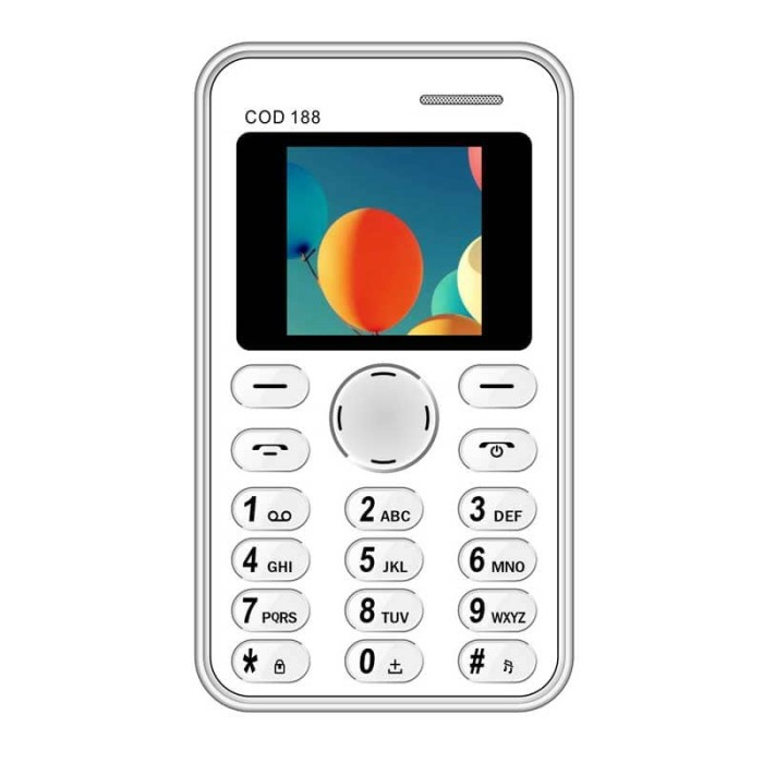 harga Brandcode b188 white -  handphone unik garansi resmi Tokopedia.com