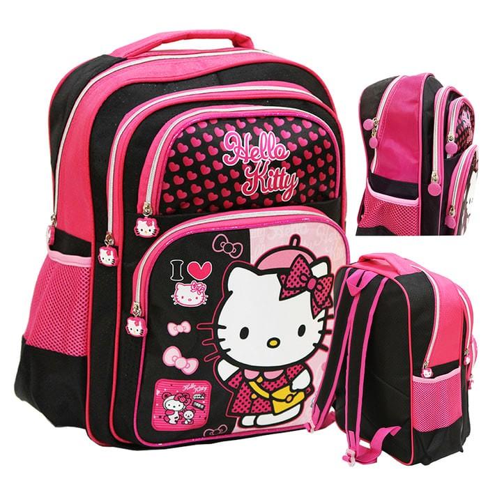 Tas Sekolah SD anak perempuan Hello Kitty Ransel Backpack School Bag 4ec531ef0c