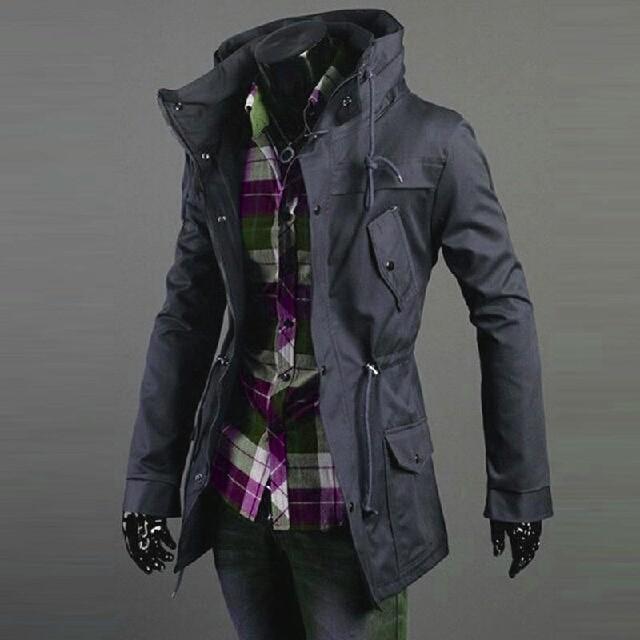 harga Jaket hardmax grey/jaket pria korea/jaket keren murah Tokopedia.com