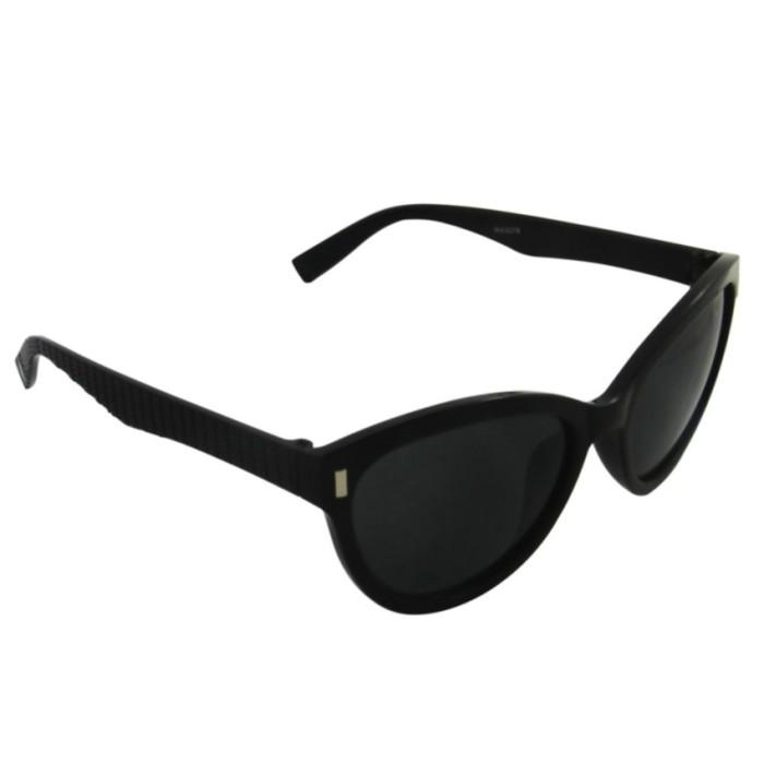 Cat Eye Fashion Sunglasses WX3078 BLK L - Kacamata Wanita .