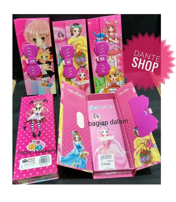 Jual Kotak Pensil Kode Anime Jepang Per Pcs Dante Tokopedia