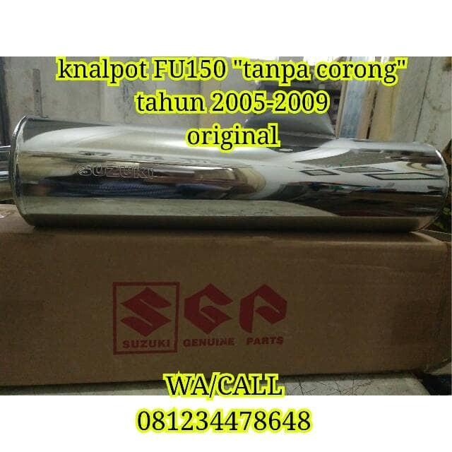 harga Knalpot suzuki satria fu150 tahun 2005-2008 original sgp 100% Tokopedia.com