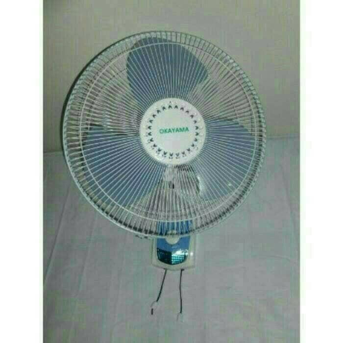 Kipas angin dinding (wall fan) okayama ok-1603 ukuran 16