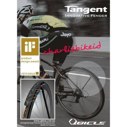 Fender spatbor qbicle tangent qf725ha roadbike 700cc