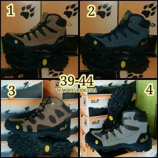 harga Sepatu tracking pria jack wolfskin boot Tokopedia.com