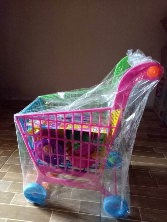 harga Mainan keranjang trolly supermarket Tokopedia.com
