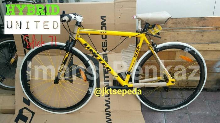 Jual Sepeda Hybrid United Slick 71