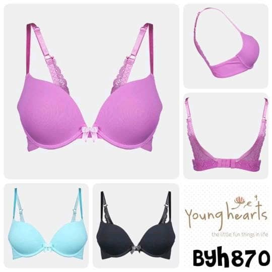 0d02d58bc228b Jual Push Up Young Hearts bra 870 size 32B 34B 36B - Sayra Fashion ...
