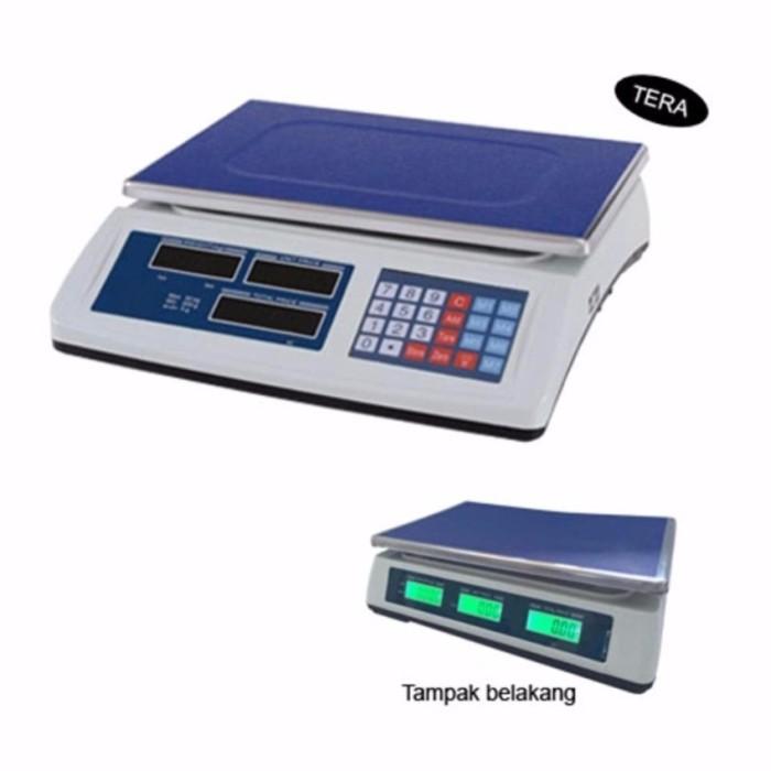 Kick on timbngan laundry digital serbaguna 40kg otomatis harga setting