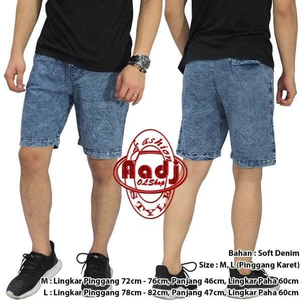 Aa06 celana jeans pendek pria / model celana terbaru murah