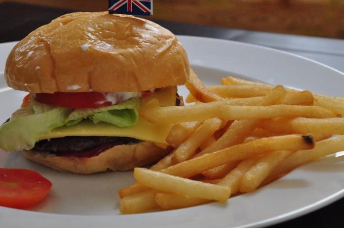 harga Bbq cheese burger australia beef Tokopedia.com