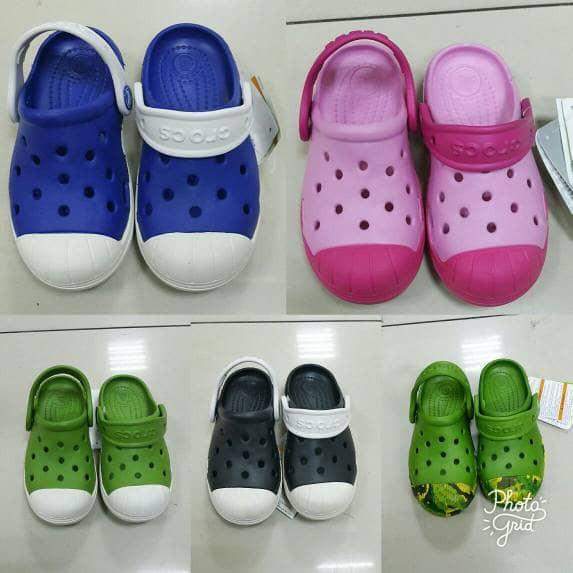 harga Sandal anak crocs bump in it original Tokopedia.com
