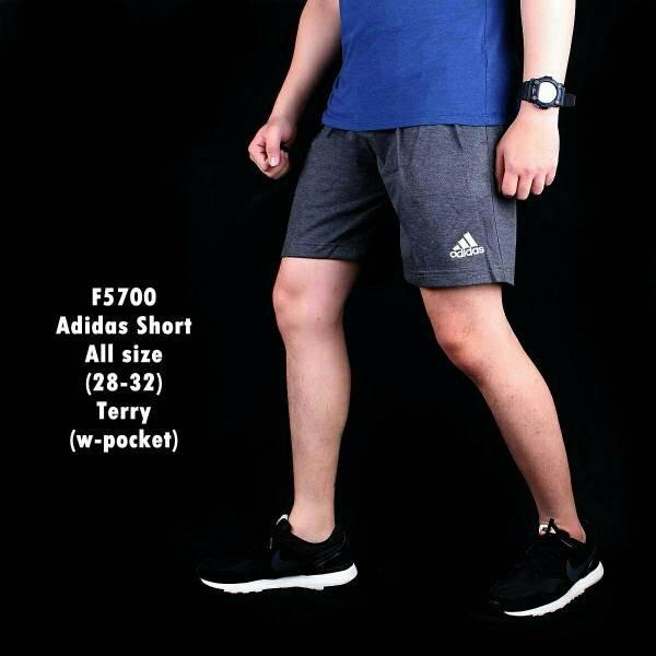 Jual Celana Pendek Pria Casual Sport Lari Jogging Adidas