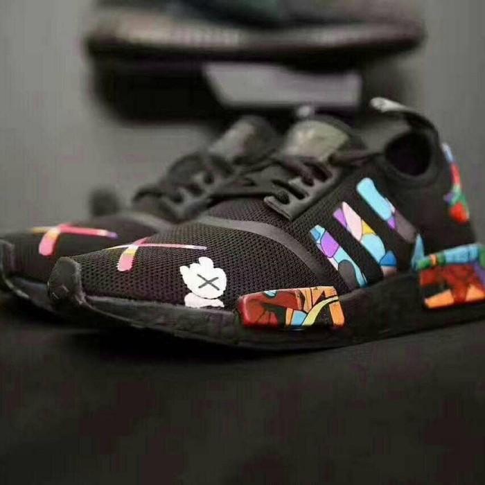 daec758a03cba Jual ADIDAS NMD X KAWS ALL BLACK - sneakers. id