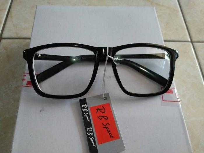 ... harga Kacamata korea murah fashion persegi besar hitam trendy hit keren  Tokopedia.com a57751283b