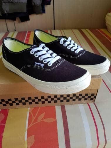 Vans Shoes Authentic-Black White-Original-Japan Market