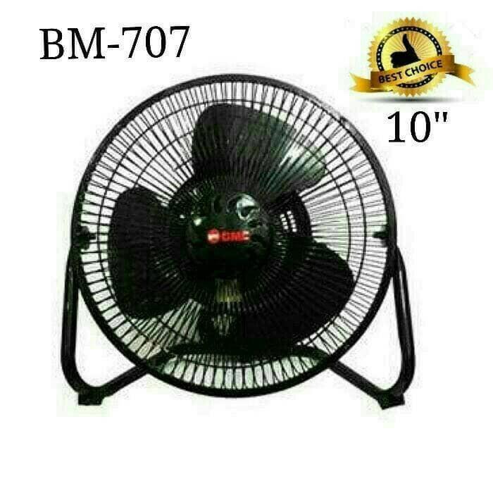 Kipas angin meja (desk fan) gmc bm 707 tornado ukuran 10
