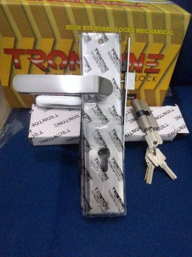 harga 1 Set Kunci Pintu Besar Trontone T96 Np | Handle Pintu | Bellucci Tokopedia.com