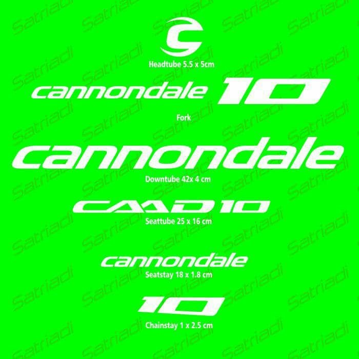 harga Stiker frame sticker decal sepeda cannondale caad10 Tokopedia.com