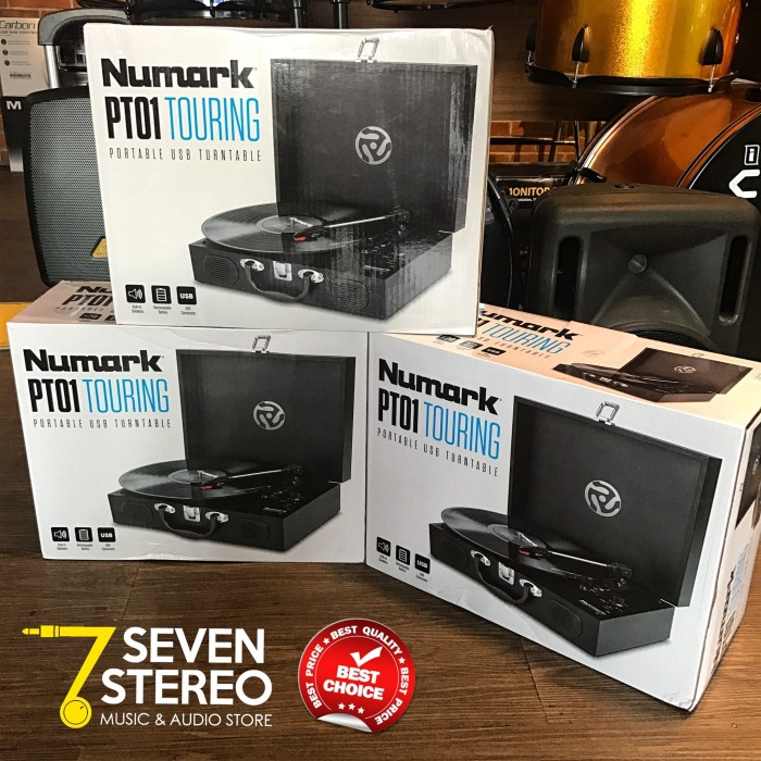 harga Numark pt01 portable turntable for vinyl player Tokopedia.com