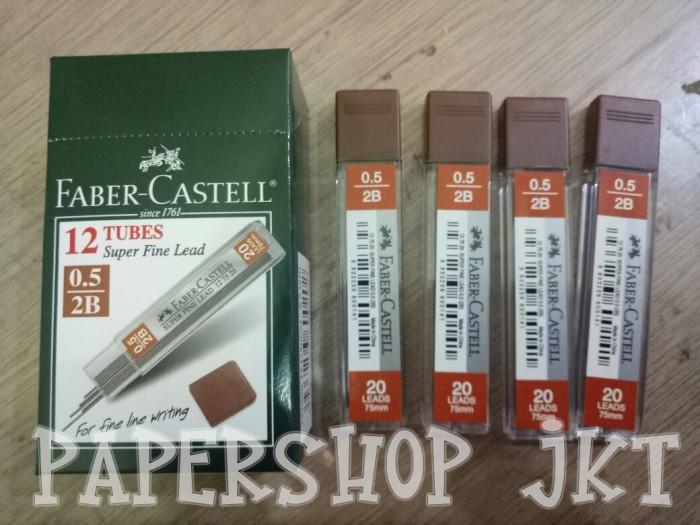 Foto Produk Faber Castel Isi Pensil Mekanik 0.5mm 2B dari Paper Shop Jkt