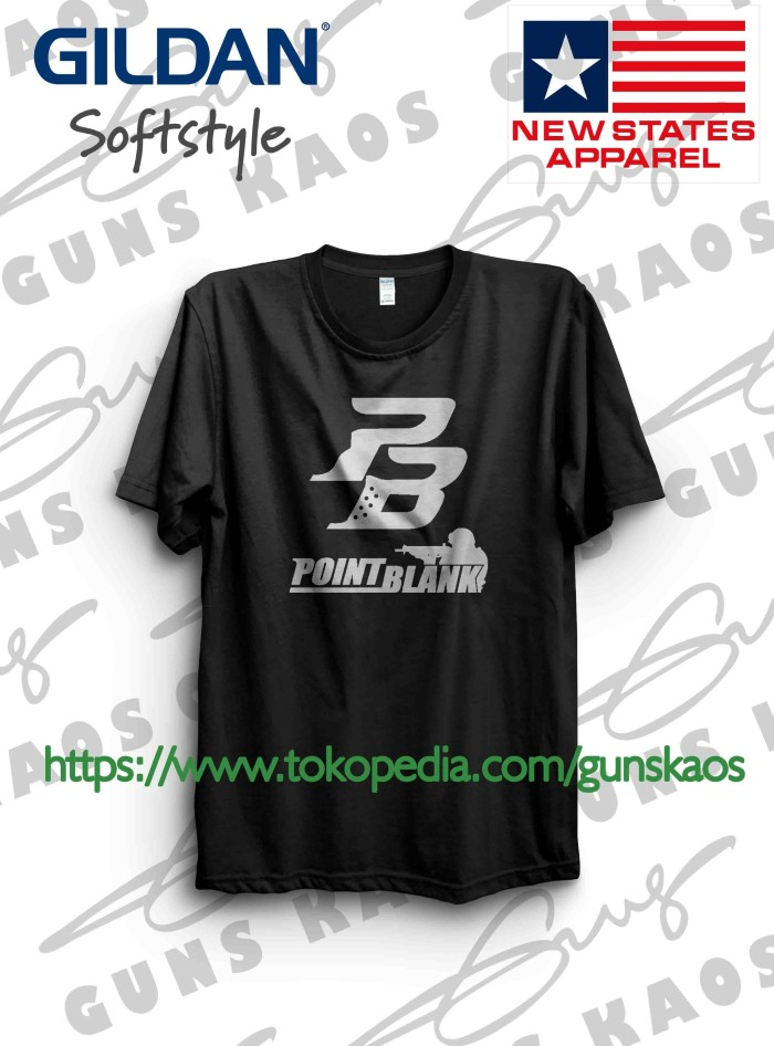 harga Kaos distro sablon poliflex game point blank Tokopedia.com
