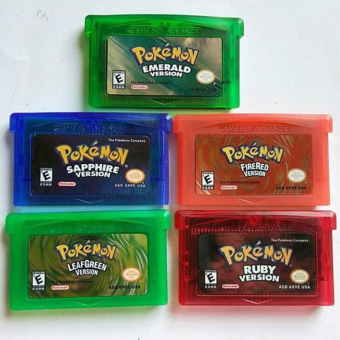 harga Kaset gameboy advance gba pokemon Tokopedia.com