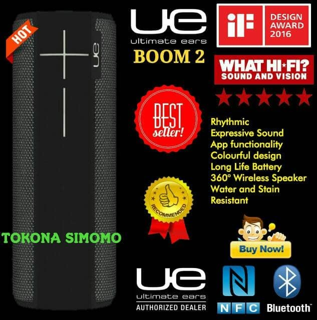 harga Ultimate ears ue boom 2 bluetooth portable speaker original Tokopedia.com