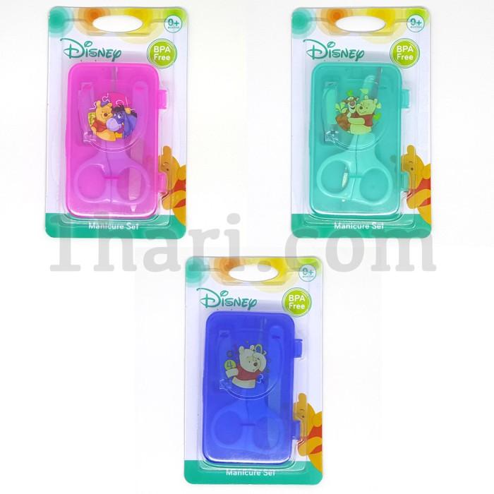 Baby manicure set with case / alat gunting kuku bayi disney pooh gb027