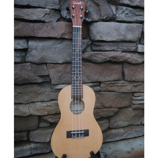 harga Grande ukulele concert 23  + softcase - coklat natural Tokopedia.com
